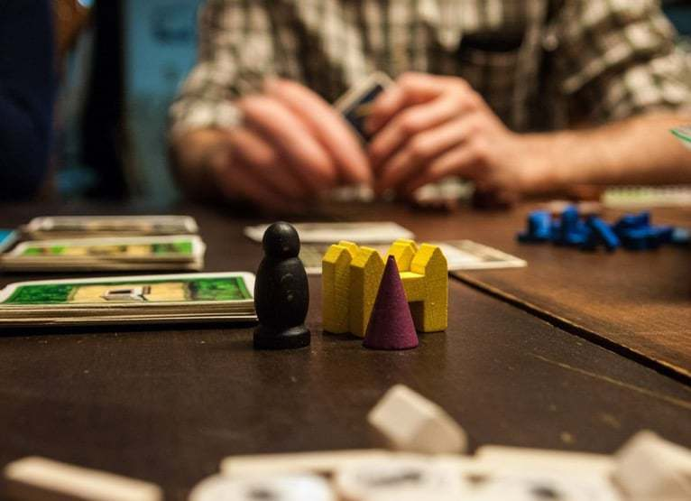 Playing board games on your RV road trip