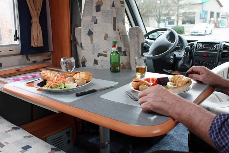Eating in your RV