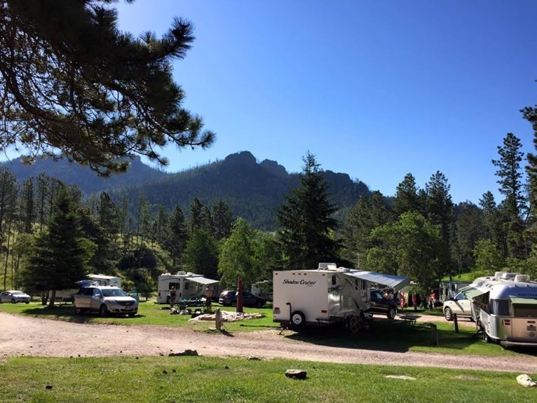Horse thief RV resort