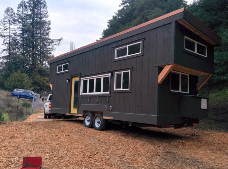 Tiny houses are tough to move