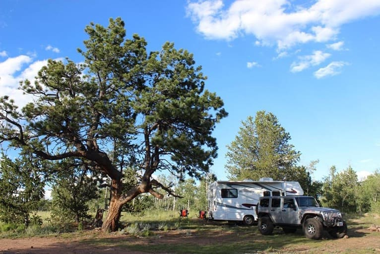 RV camping on a budget