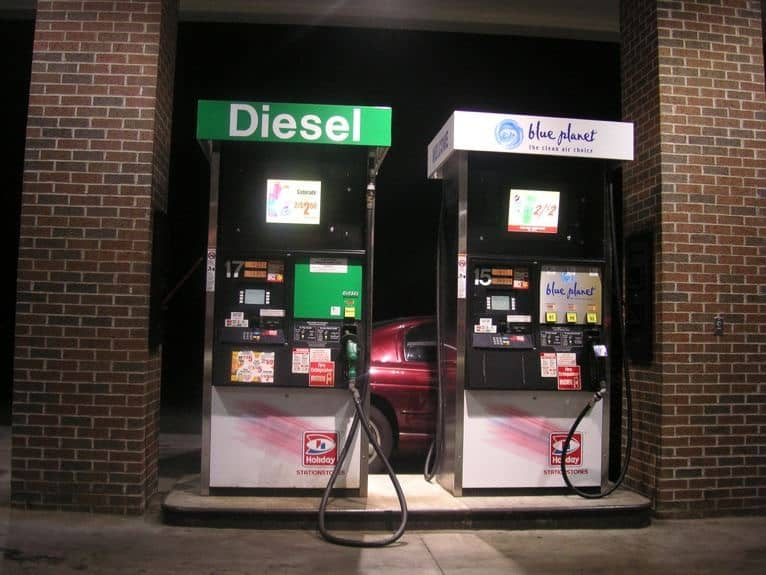 Cost of gas / diesel for your RV