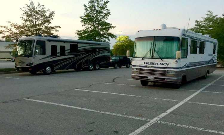 Parking your RV