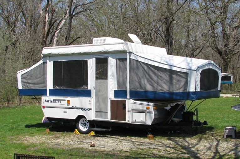 RV Pop Up Trailer