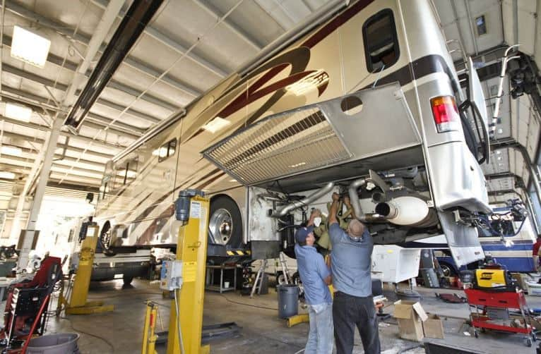 Servicing your RV