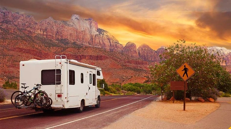 Traveling with an RV is extraordinary