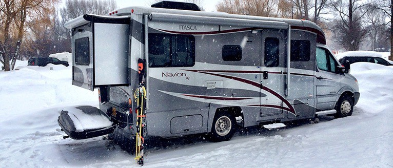 Winter camping in your RV