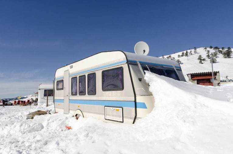 Winterize your RV