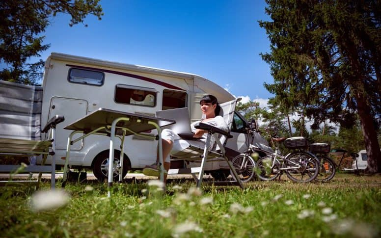 RV with internet access