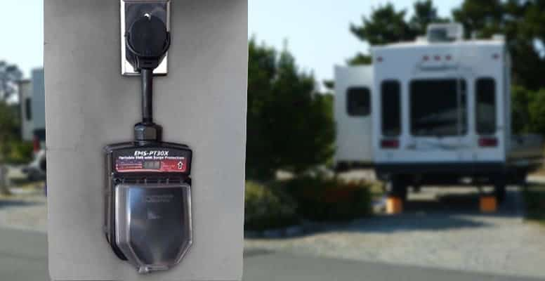 RV Power Outlet Surge Protector Portable