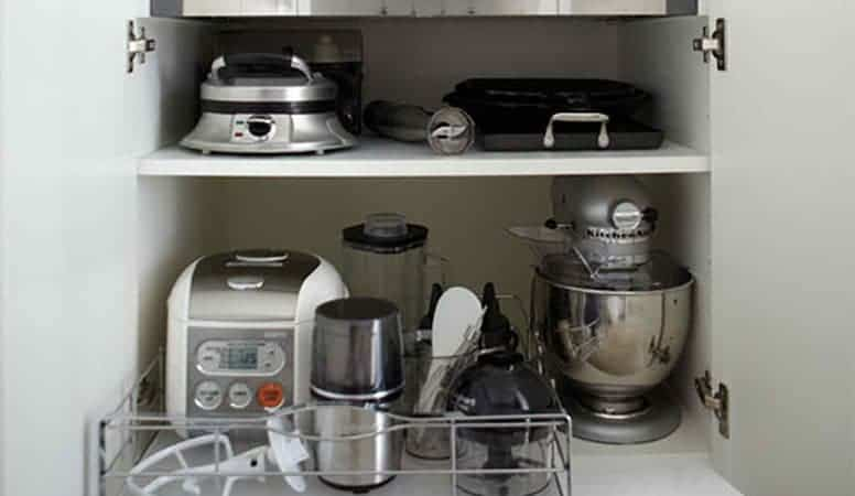 Unnecessary Kitchen Appliances in a RV