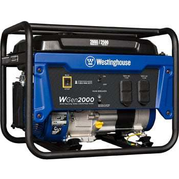 Westinghouse WH7500E Gas Generator Review