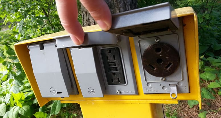 Camping Electricity