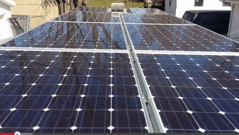 Installing too many solar panels on your RV