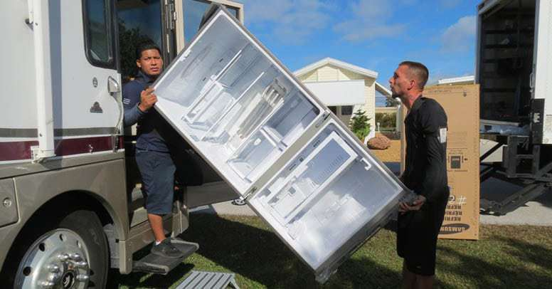 Install Your New RV Refrigerator