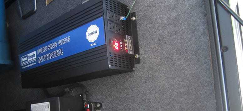 Power Inverter in RV
