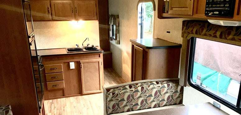 RV Kitchen Small Size