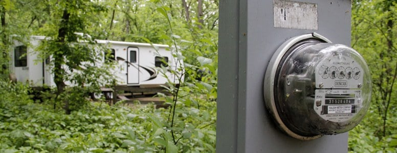 Electricity on Camping Grounds