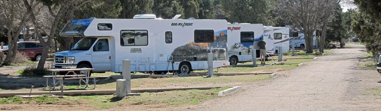 National Park RV Camping