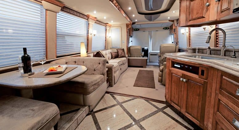 RV Neat and Clean Interior