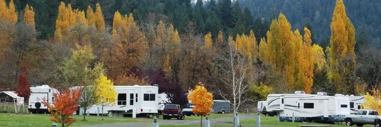 RV Park Nature and Scenery