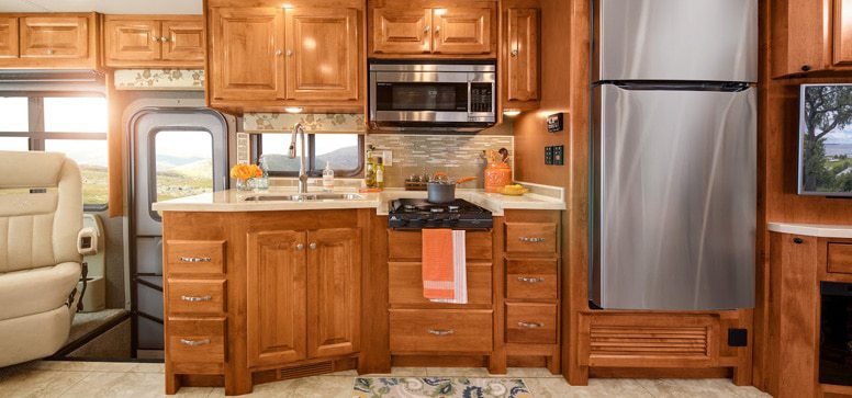 RV Kitchen Size