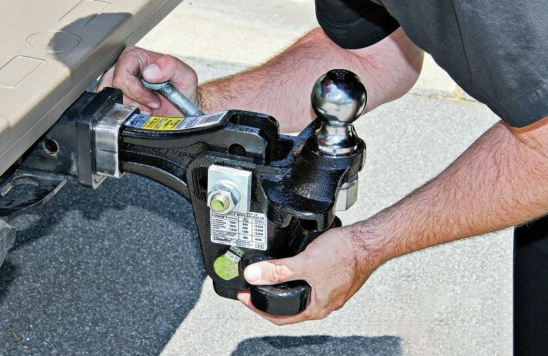 Mounting RV Trailer Hitch