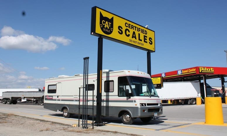 RV On Scale