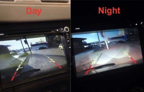 rv backup camera night vision