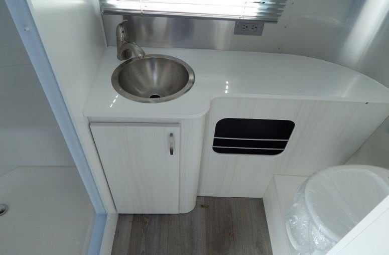 Airstream Sport Bathroom