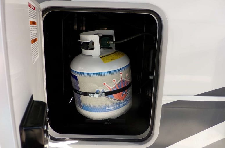 Propane Bottle In RV