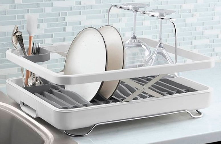 Drying Dish In Rack