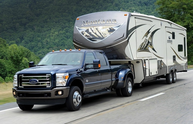 Towing A Fifth Wheel Trailer
