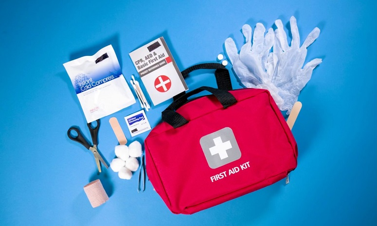Red Aid Kit