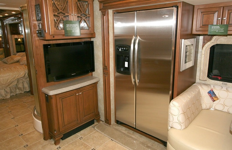Propane Fridge In RV