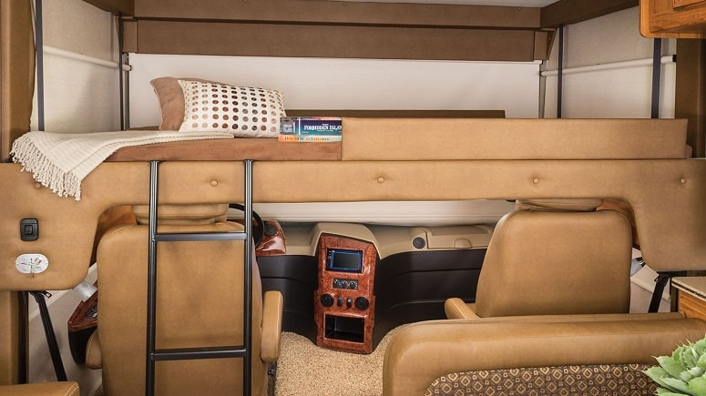 RV Overhead Bed
