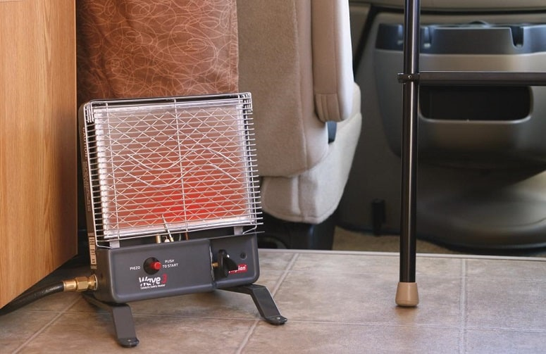 Using Portable Heater In RV