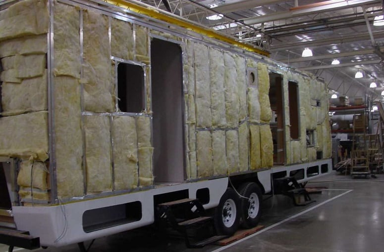 Making RV Wall Insulation