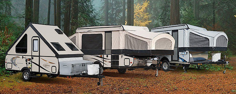 Pop-Up Tent Trailers