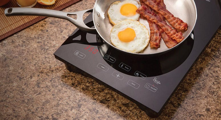 Cooking On Portable Induction Cooktop
