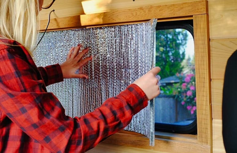 Covering RV Windows