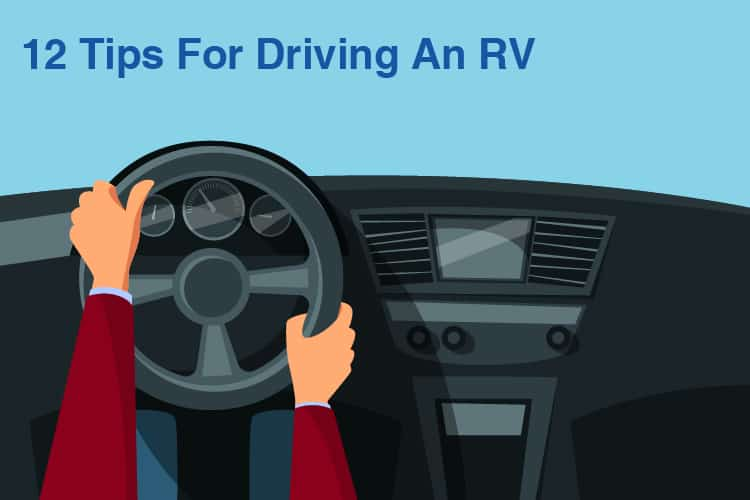 Tips For Driving an RV
