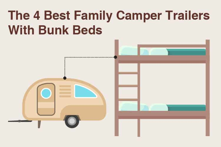 best camper trailers with bunk beds
