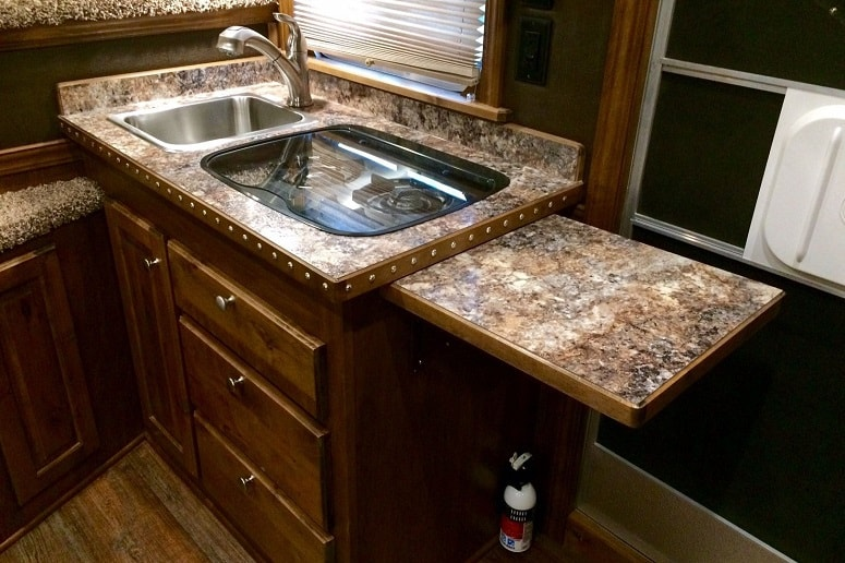 RV Foldable Countertop Extension
