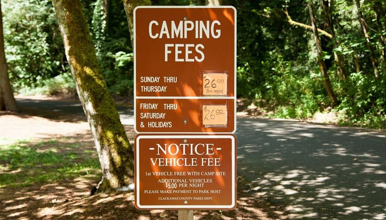 Campground Fees