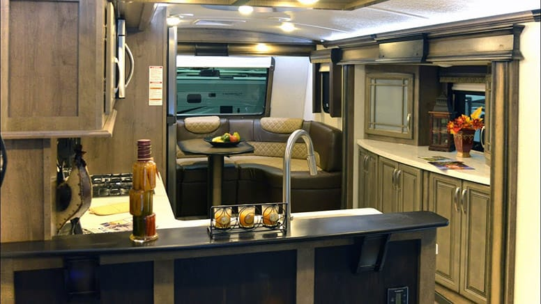 Fifth Wheel Kitchens