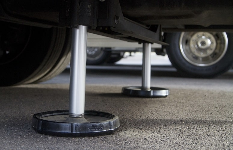 RV Leveling Foot Pads