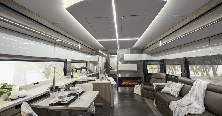 Luxury RV Models