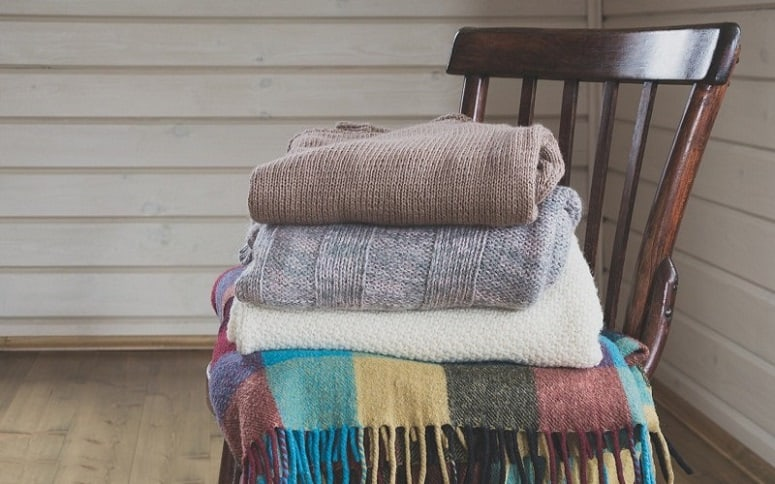 Blankets On Chair