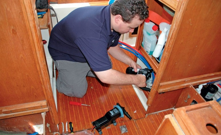 Changing Pipes In RV
